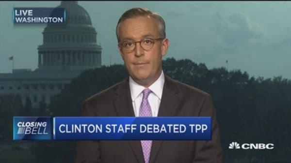 Clinton & The TPP