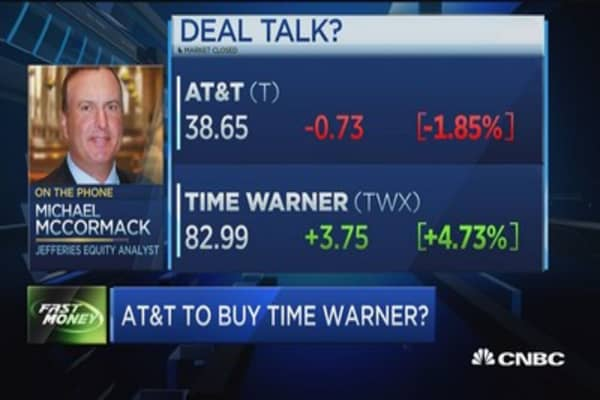 Analyst: Don't see deal with AT&T/Timer Warner