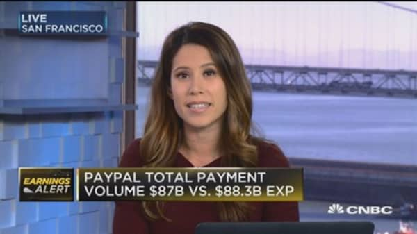 PayPal partners with Visa, Mastercard