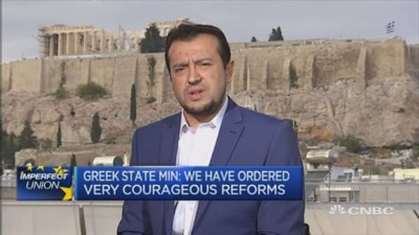Greece has completed all major reforms agreed last year: Min