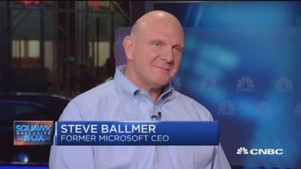 Steve Ballmer: Microsoft is a 'fantastic' company