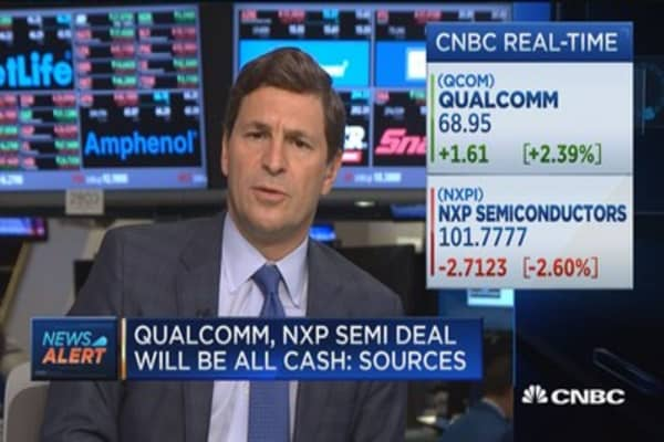 Qualcomm, NXP Semi agree on $110/share in cash: Sources