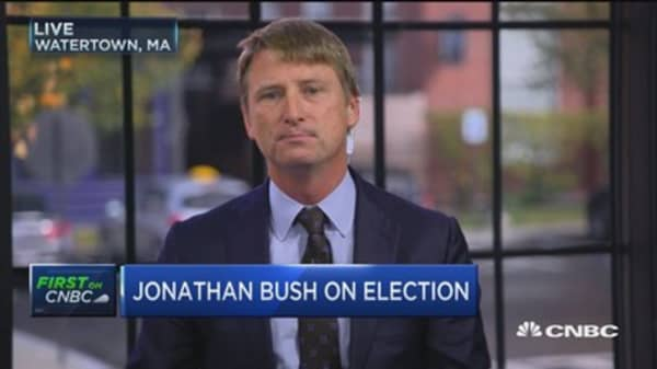 Who's Jonathan Bush voting for?