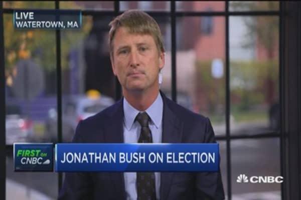 Who's Jonathan Bush voting for?