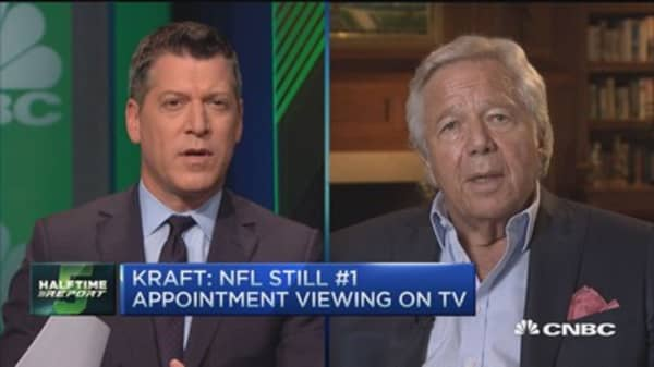 Kraft: Seeing uptick in our global business