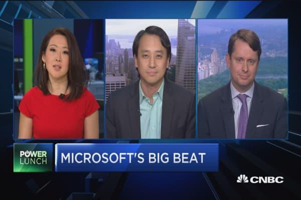Microsoft's big beat
