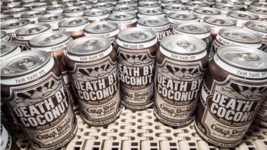 Death by Coconut Irish porter