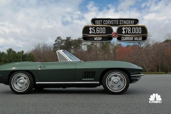 Vice President Joe Biden's 1967 Corvette Stingray was originally a wedding gift from his father.