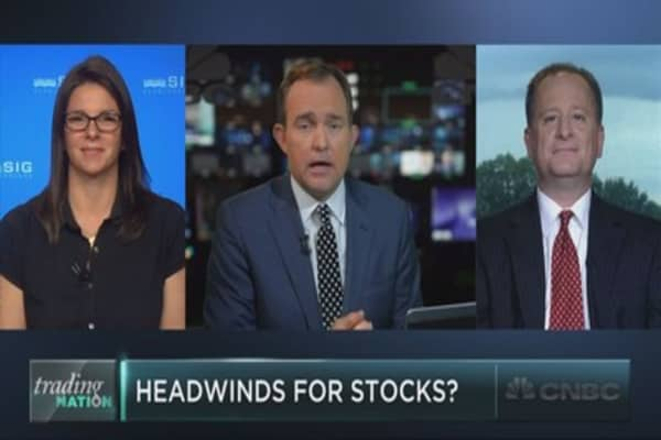 Are headwinds growing for the market?