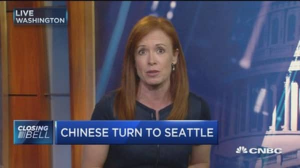 Chinese turn to Seattle real estate