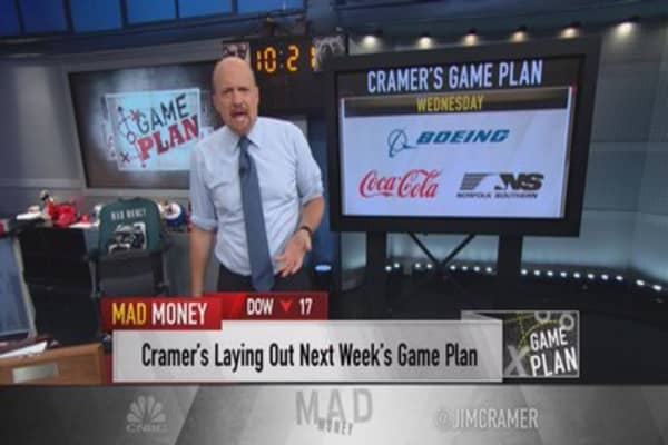 Cramer's game plan: Watch earnings and potential deals