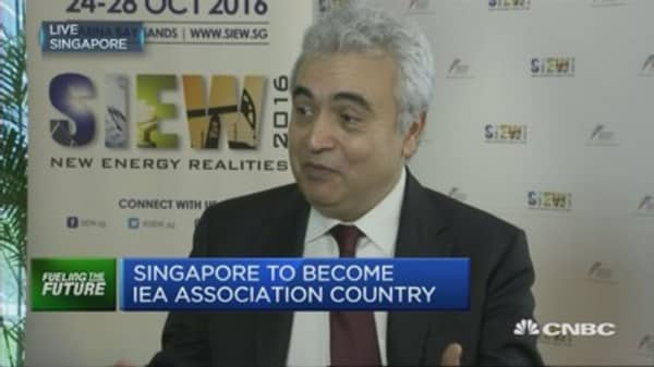 Share of renewables in energy mix is increasing: IEA