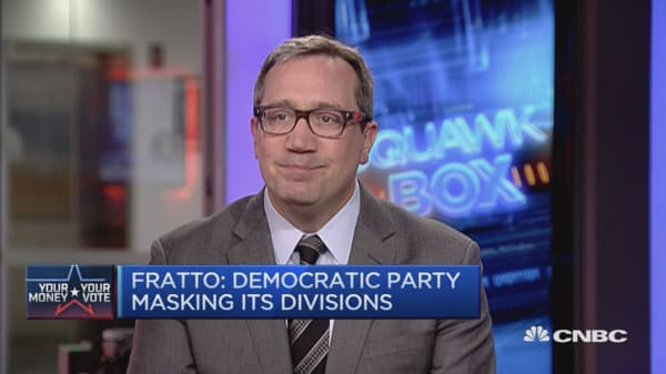 Both Democrats and Republicans are divided: Fratto