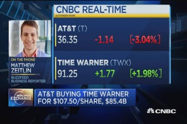 AT&T/Time Warner merger under scrunity