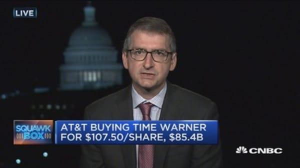 AT&T/Time Warner faces hurdles