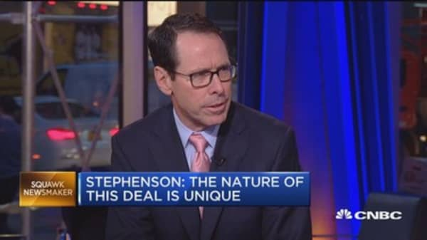 AT&T CEO: No competitors taken out of marketplace
