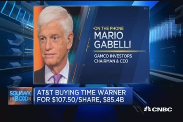 Mario Gabelli: Likely get more media deals