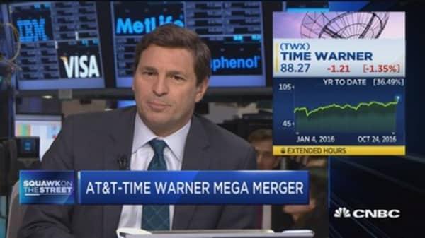 AT&T-Time Warner mega merger