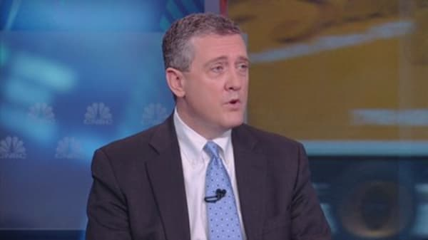 Fed's Bullard thinks low rates will be the norm