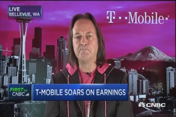 Legere: T-Mobile be bigger wireless company than AT&T in 5 years