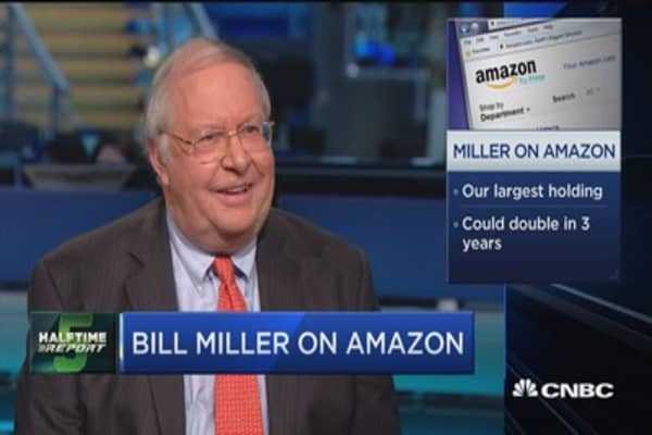 Bill Miller: Amazon dominates in retail & the cloud