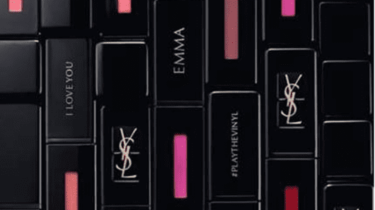 Yves Saint Laurent personalized makeup