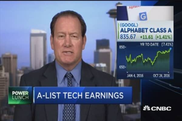 A-list tech earnings on deck
