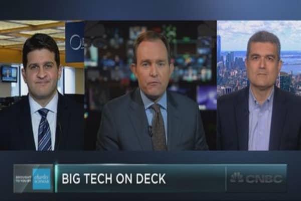 Tech stocks' big earnings week