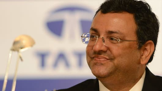 Ousted chairman of the Tata Group, Cyrus Mistry.