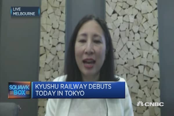 What the Kyushu Railway IPO has to do with the economy