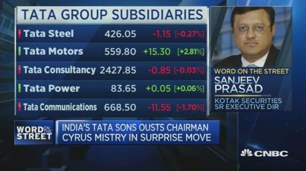 Tata chairman ouster was a surprising move: Expert