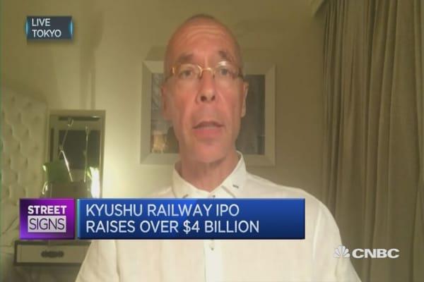 Kyushu Railway is a keeper: Investor