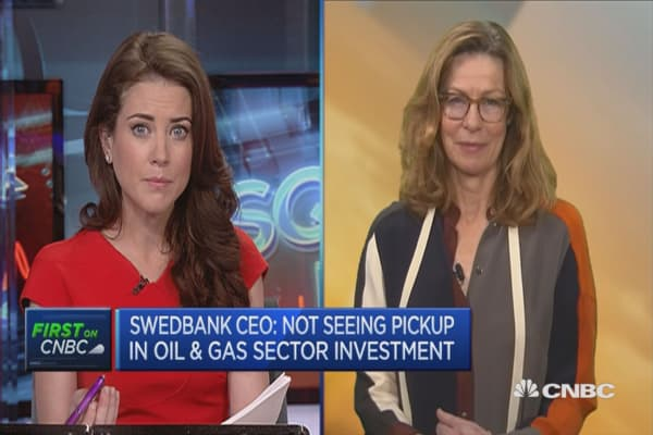 Negative rates not an easy instrument to use: Swedbank CEO