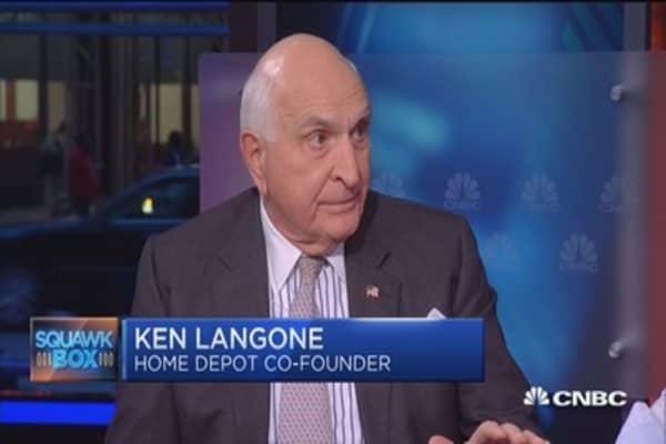 Langone: US economy is at best 'tepid'