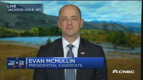 Evan McMullian: Taking votes from Trump