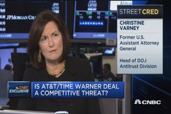 Is AT&T-Time Warner deal a competitive threat?