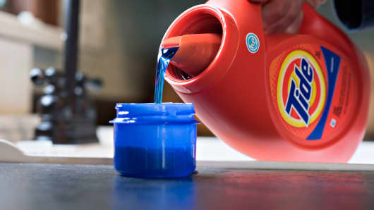 Procter & Gamble Tide brand detergent
