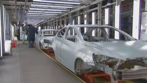 General Motors stock down despite earnings beat