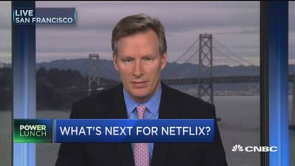 Mahaney: Netflix takeover unlikely