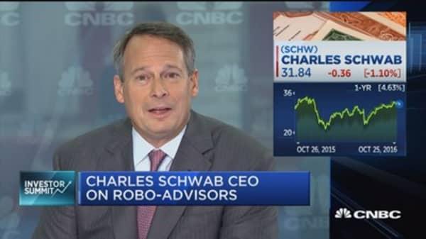 Charles Schwab CEO on TD Ameritrade/Scottrade deal