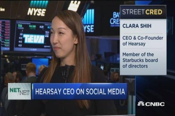 Hearsay CEO on corporate social media