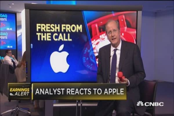 Analyst on Apple: Growth as far as services