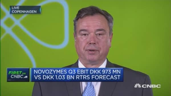 Innovation across the board at Novozymes: CEO