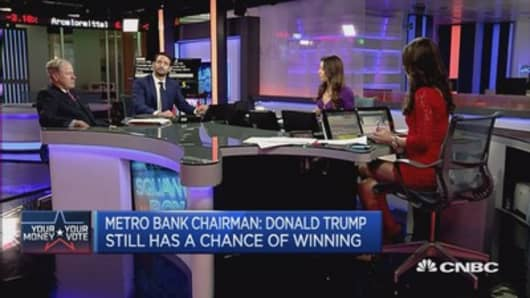 Trump still has a chance to win: Metro Bank Chair