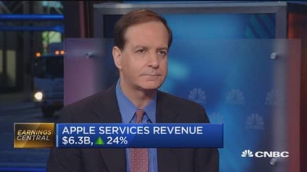 Apple's 'gap' year