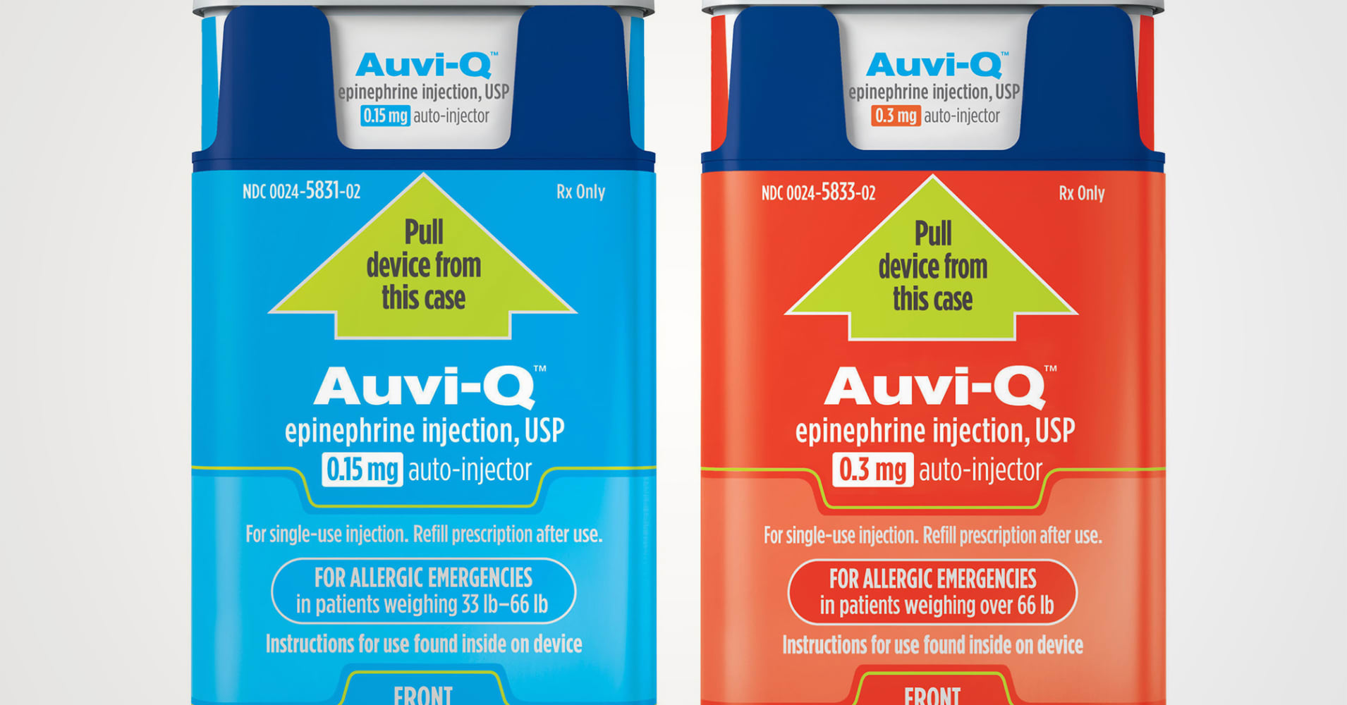 Mylans Epipen Will Get Competition From Return Of Kaleos Auvi Q In