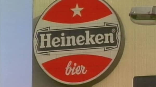 Heineken now the world's second-largest beer maker