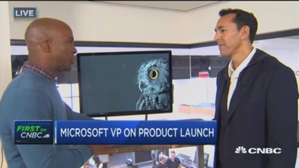 Microsoft VP on Surface product launch
