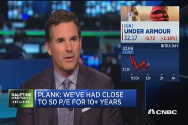 Plank: We've improved gross margins each year