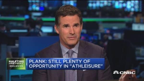 Plank: Still plenty of opportunity in 'athleisure'